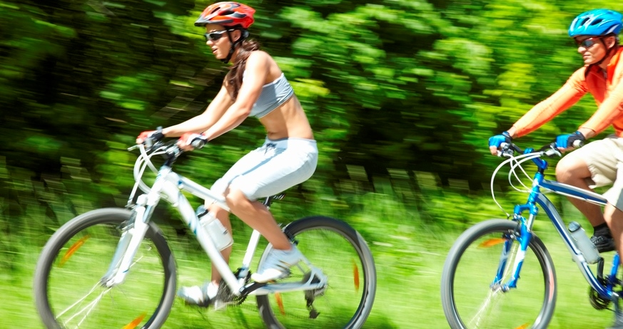 Get on your bike! It's good for your mental health.