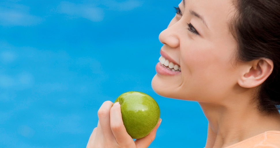 Smile more! It's good for your health.